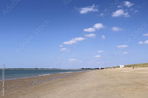Fotografia  Beach on the Atlantic coast of France