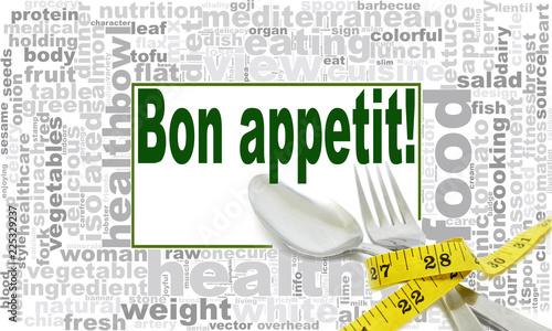 Plakaty do jadalni bon-appetit-word-cloud