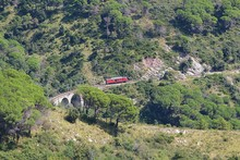 Narrow-gauge Railway Through T...