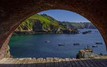 Saints Bay Cove In Guernsey, U...