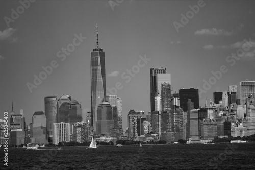 Deurstickers New York City vue Manhattan