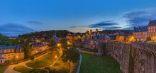 Castle Of Fougeres In Brittany...