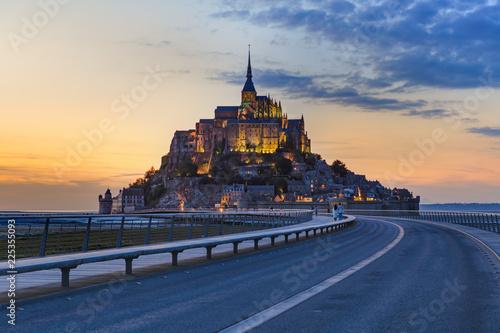 Photo  Mont Saint Michel Abbey - Normandy France