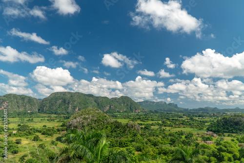Mountains in Viniales, Cuba