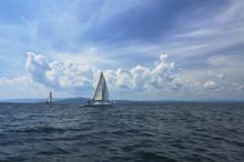 Sailboats On Lake Champlain 067