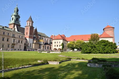 Spoed Foto op Canvas Krakau Château du Wawel (XVème siècle)