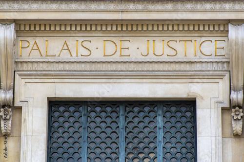 Fotografia Palais de Justice, Paris, France