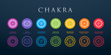 Chakra Set Vector Illustration