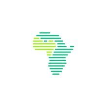 West Africa Tech Digital Logo Vector Icon