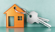 House keys, illustration