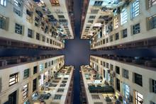 Hong Kong Building Look Up