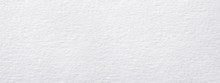 White Horizontal Rough Note Paper Texture, Light Background For Text.