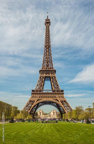 Paris Eiffel Tower, France Fototapet