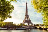 Fototapeta Fototapety z wieżą Eiffla - Paris Eiffel Tower, France