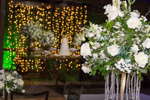 flores de decoração Canvas-taulu