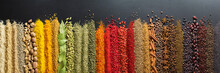 Colorful Collection Spices And...