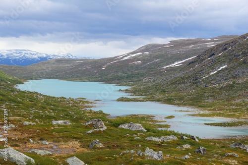 Staande foto Scandinavië Strynefjellet mountains, Norway