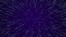 Hyper Jump. Abstract Geometric Background. Circular Geometric Pattern. Starburst Dynamic Lines.