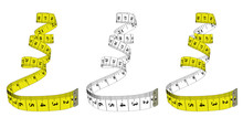 Measuring Tape,diet Theme. The...