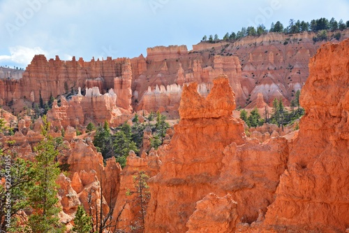 Foto op Canvas Baksteen bryce canyon national park in usa