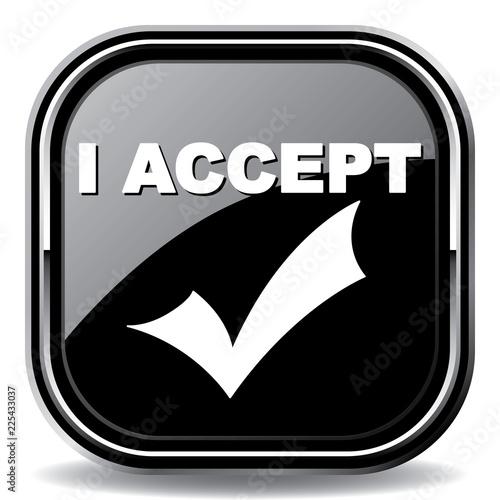 Fotografía  accept icon