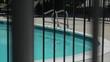 Pool through the window