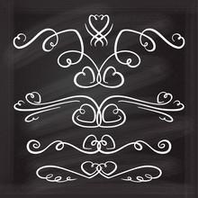 Vector Calligraphic Design Ele...