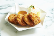 Croquette With Sweet Chili Sauce