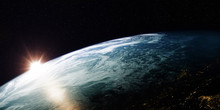 A View Of The Earth From Outer...