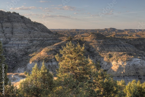 Fotografie, Obraz  Theodore Roosevelt National Park is in Western North Dakota