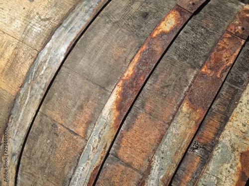 Fotografie, Obraz  Wooden Wine Barrels
