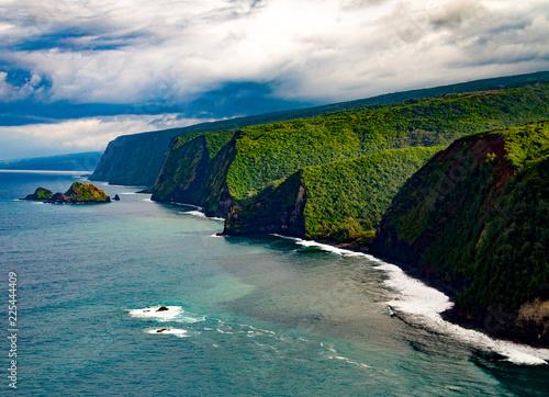 Pololu Lookout Big Island Hawaii North side Kona Kailua Hawai'i