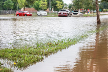 Stormwater Flooding A Road Wit...