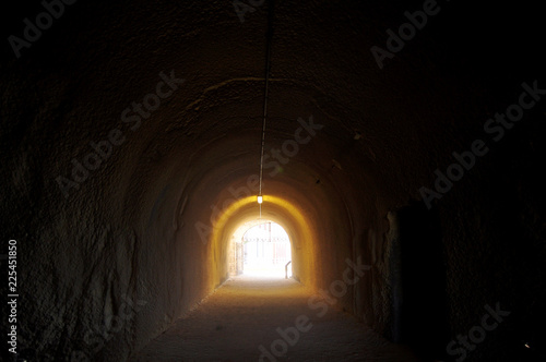 Foto op Aluminium Oceanië The Whaler's Tunnel of Round House Prison at Fremantle port city in Perth, Australia