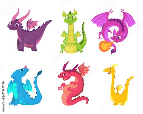 Cute dragons Canvas