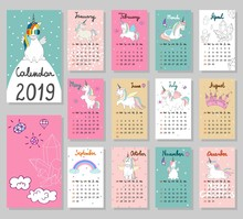 Hand Drawing Vector Calendar 2...
