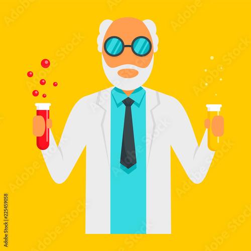 Fotografia  Scientific man icon