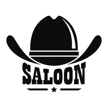 Saloon Logo. Simple Illustrati...