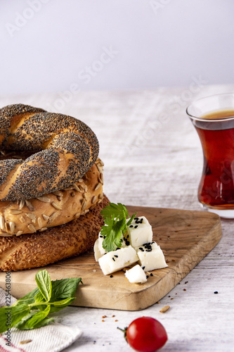 simit ve çay