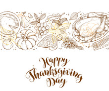 Happy Thanksgiving Day Greetin...