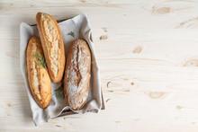 Homemade Bread With Rosemary