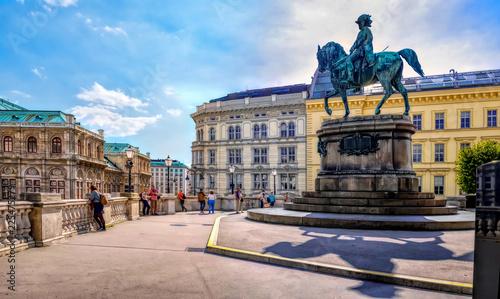 Staatsoper, Albertina, Reiterstandbild, Wien