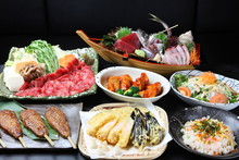 色々な日本料理集合
