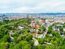 Prater Park In Vienna