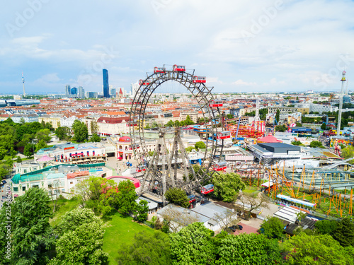 Prater park in Vienna Wallpaper Mural