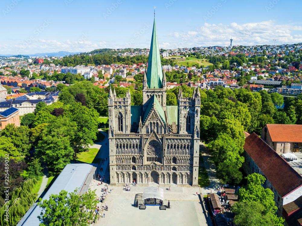 Fototapety, obrazy: Nidaros Cathedral in Trondheim