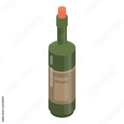 Fotografie, Obraz  Cabernet bottle icon