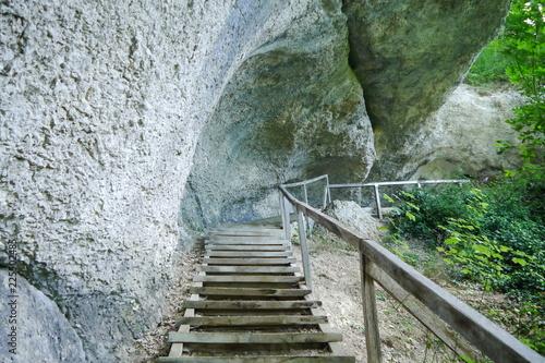 Fotografía  Wanderweg Grotten Park Inzigkofen