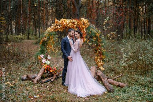 Fotografie, Obraz  Evening wedding ceremony.