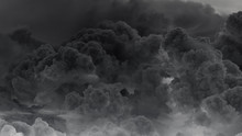 Eruption Of Volcanic Clouds